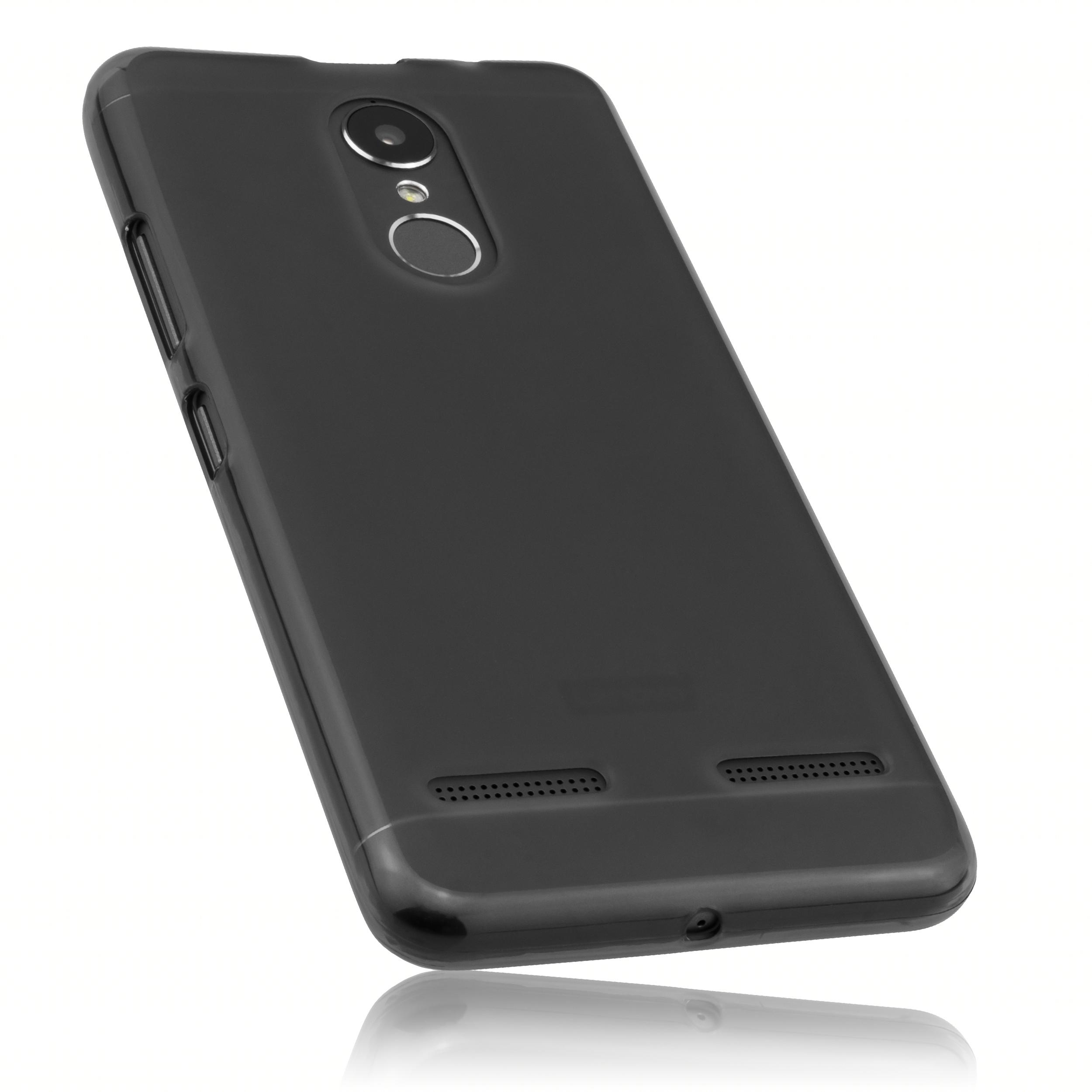 TPU Hülle schwarz transparent für Lenovo K6 Lenovo weitere Modelle Weitere Modelle Hersteller