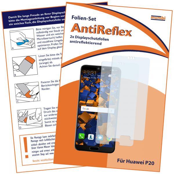Displayschutzfolie 2 Stck. AntiReflex für Huawei P20