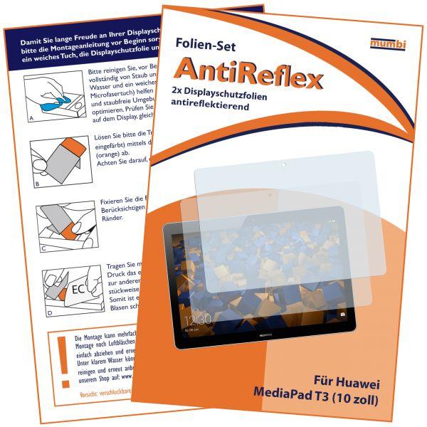 Displayschutzfolie 2 Stck. AntiReflex für Huawei MediaPad T3 (10.0)