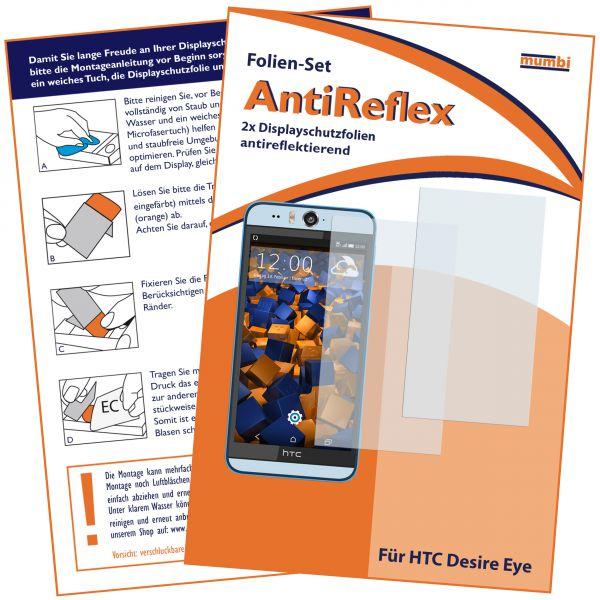Displayschutzfolie 2 Stck. AntiReflex für HTC Desire Eye