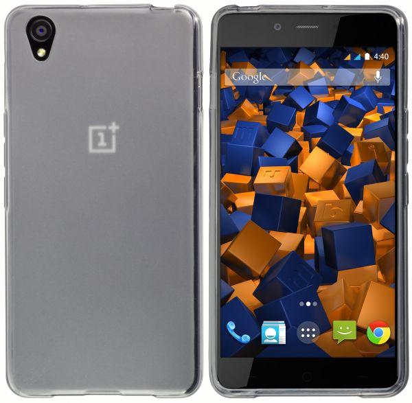 TPU Hülle schwarz transparent für OnePlus X