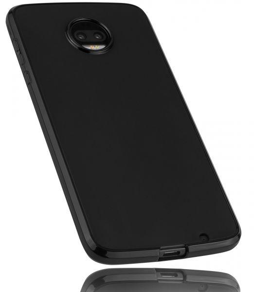TPU Hülle schwarz für Motorola Moto Z2 Force