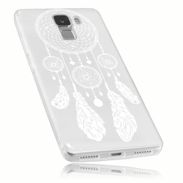 TPU Hülle transparent Motiv Traumfänger für Huawei Honor 7
