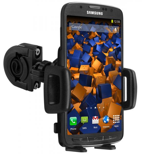 Fahrrad- Motorradhalterung TwoSave für Samsung Galaxy S4 Active