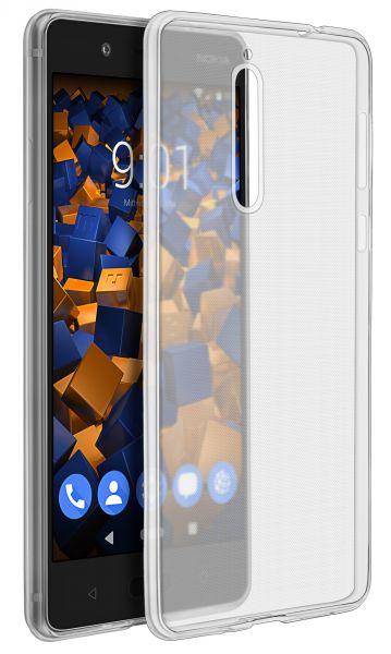 TPU Hülle Ultra Slim transparent für Nokia 8