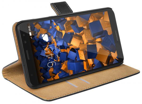 Bookstyle Tasche schwarz für Huawei Mate 10 Lite