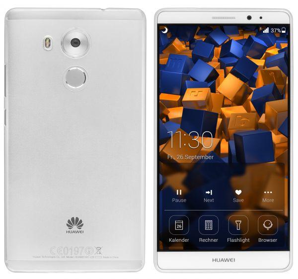 TPU Hülle Ultra Slim transparent für Huawei Mate 8