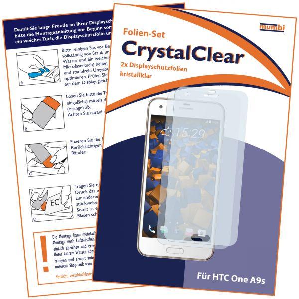 Displayschutzfolie 2 Stck. CrystalClear für HTC One A9s