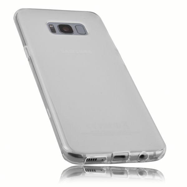 TPU Hülle weiß transparent für Samsung Galaxy S8 Plus