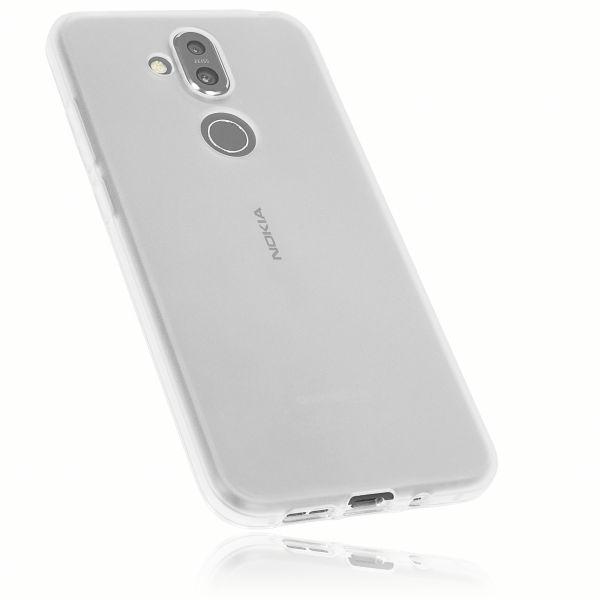 TPU Hülle weiß transparent für Nokia 8.1