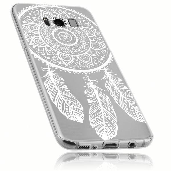 TPU Hülle Ultra Slim transparent Motiv Traumfänger für Samsung Galaxy S8
