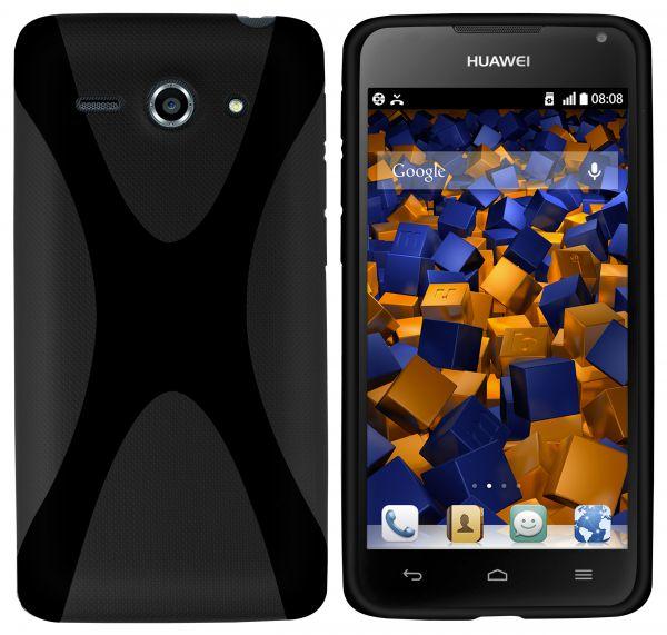TPU Hülle X-Design schwarz für Huawei Ascend Y530