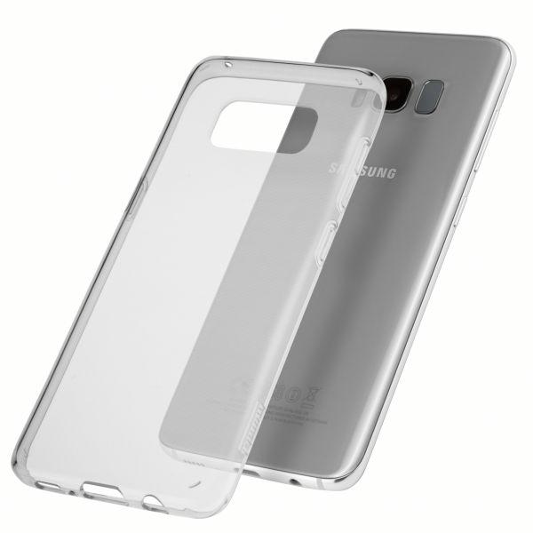 TPU Hülle Ultra Slim UV beständig transparent für Samsung Galaxy S8 Plus
