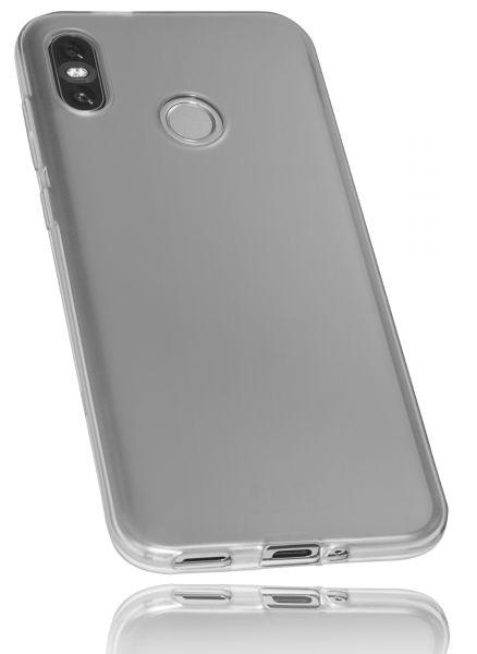 TPU Hülle schwarz transparent für HTC U12 Life