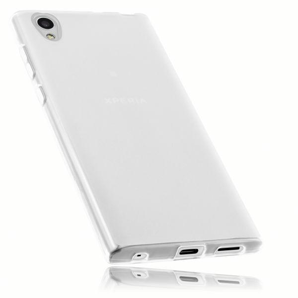 TPU Hülle weiß transparent für Sony Xperia L1