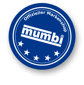 mumbi Markenshop Badge