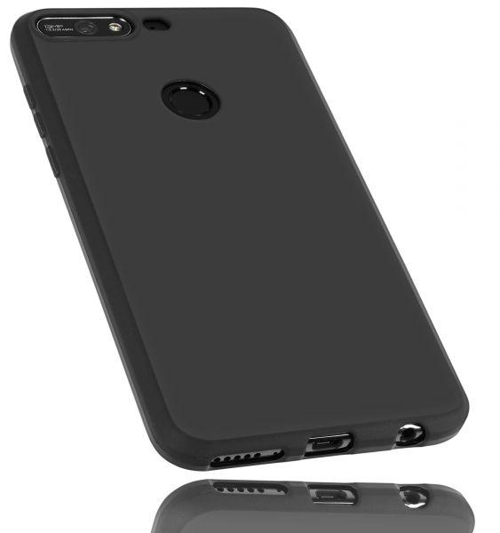 TPU Hülle schwarz für Huawei Y7 (2018)