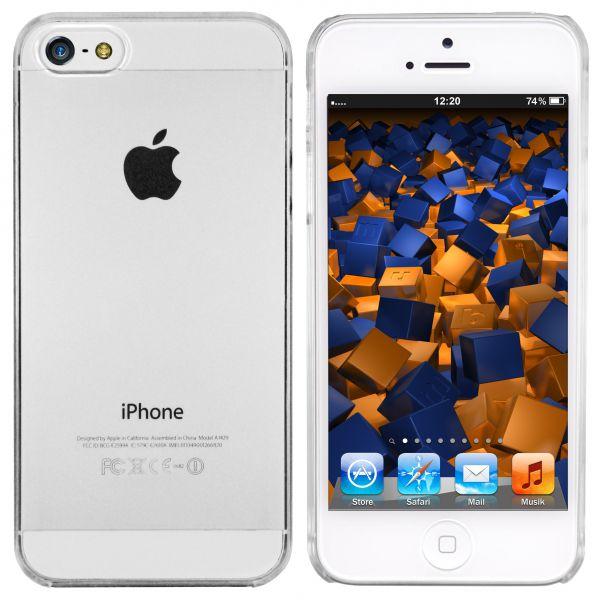 Hard Case Hülle transparent für Apple iPhone SE (2016) / 5 / 5s