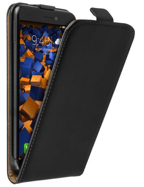 Flip Case Tasche schwarz für Huawei P8 Lite (2017)