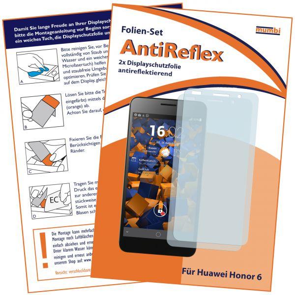 Displayschutzfolie 2 Stck. AntiReflex für Huawei Honor 6