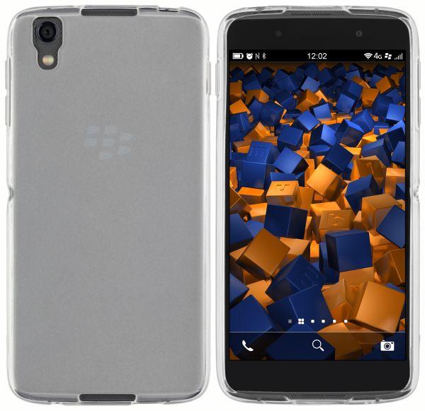 TPU Hülle weiß transparent für Blackberry DTEK50