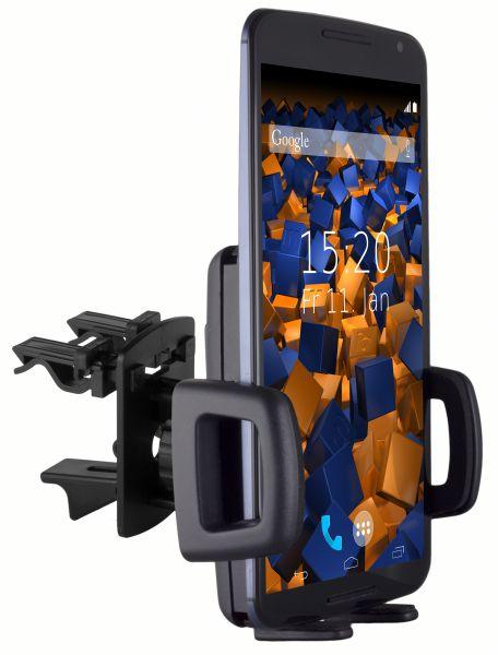 Lüftungsschlitz KFZ Halterung Vent Mount Kugelgelenk für Motorola Google Nexus 6