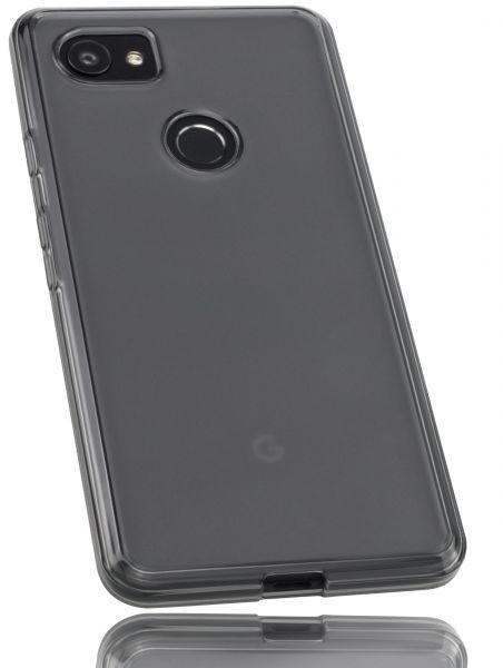 TPU Hülle schwarz transparent für Google Pixel 2 XL