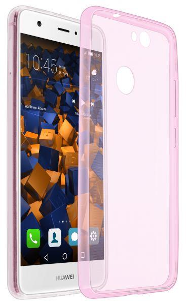 TPU Hülle Ultra Slim rosa transparent für Huawei Nova