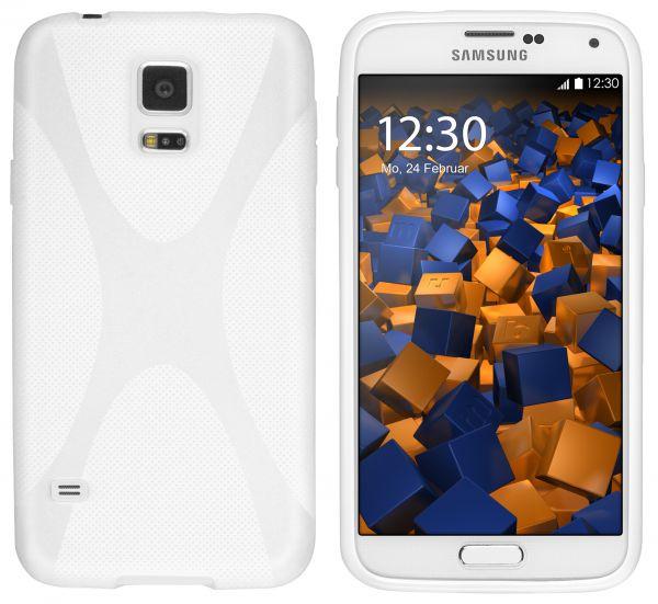 TPU Hülle X-Design weiß für Samsung Galaxy S5 / S5 Neo