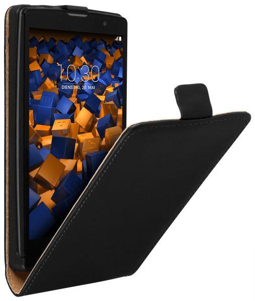 Flip Case Tasche schwarz für LG Magna / G4c