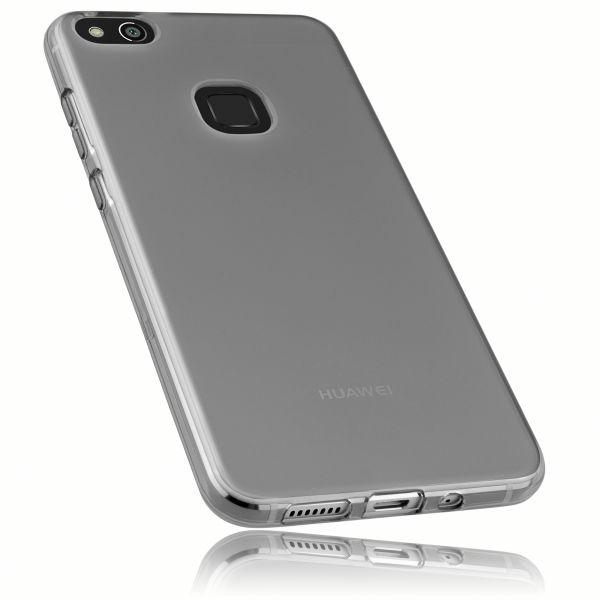 TPU Hülle schwarz transparent für Huawei P10 Lite