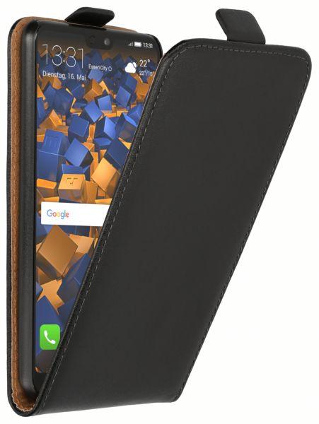 Flip Case Tasche schwarz für Huawei P20
