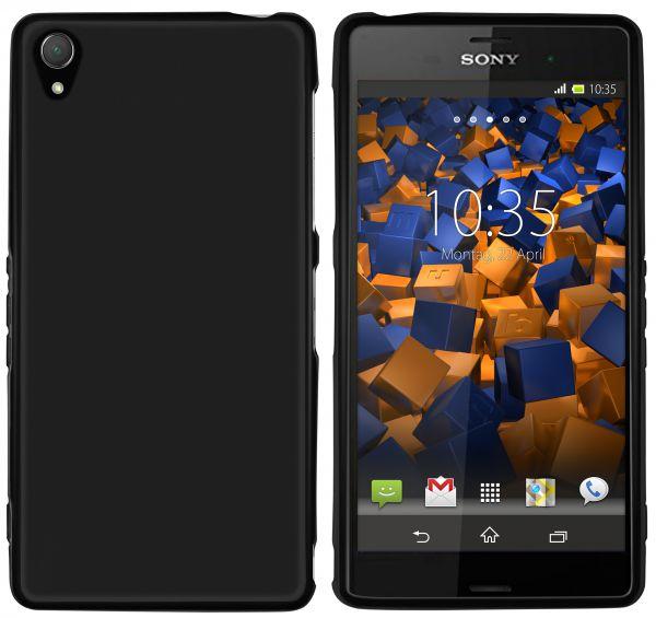 TPU Hülle schwarz für Sony Xperia Z3 / Z3 Dual