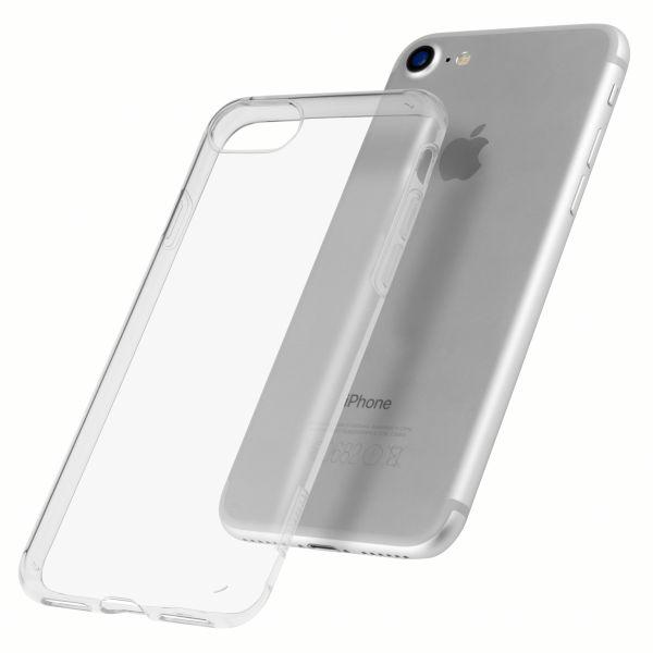TPU Hülle Ultra Slim UV beständig transparent für Apple iPhone 8 / 7