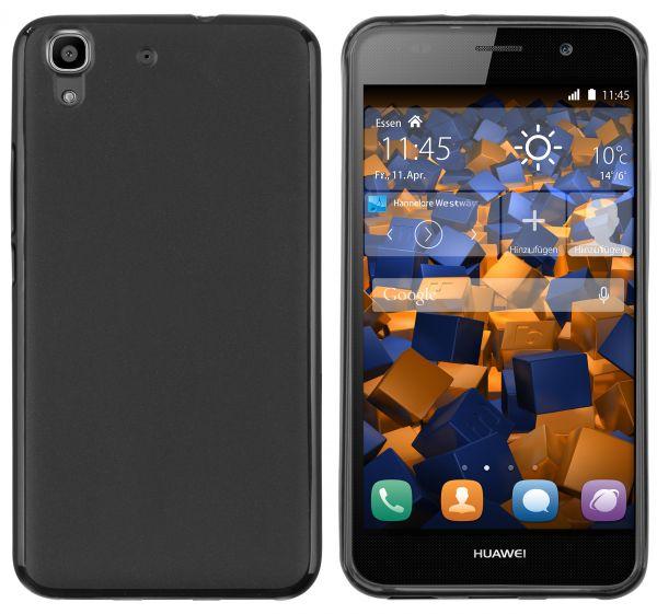 TPU Hülle schwarz für Huawei Y6 (2015)