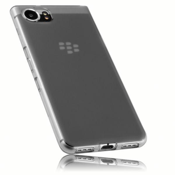 TPU Hülle schwarz transparent für Blackberry KEYone