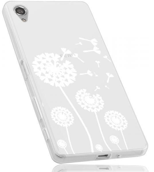 TPU Hülle transparent Motiv Pusteblume für Sony Xperia X