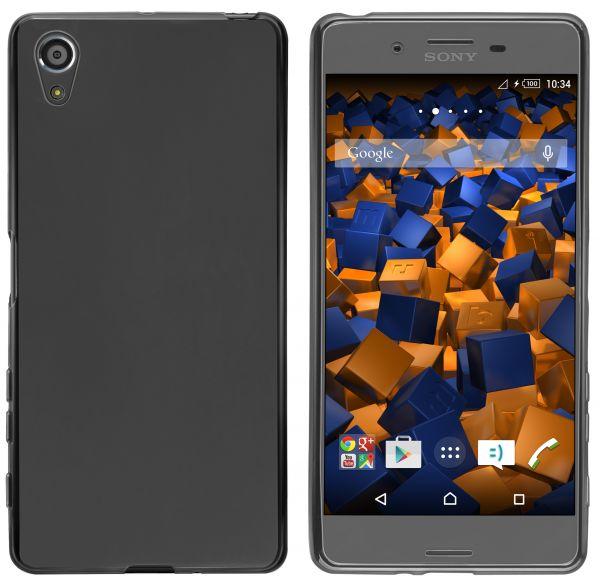 TPU Hülle schwarz für Sony Xperia X