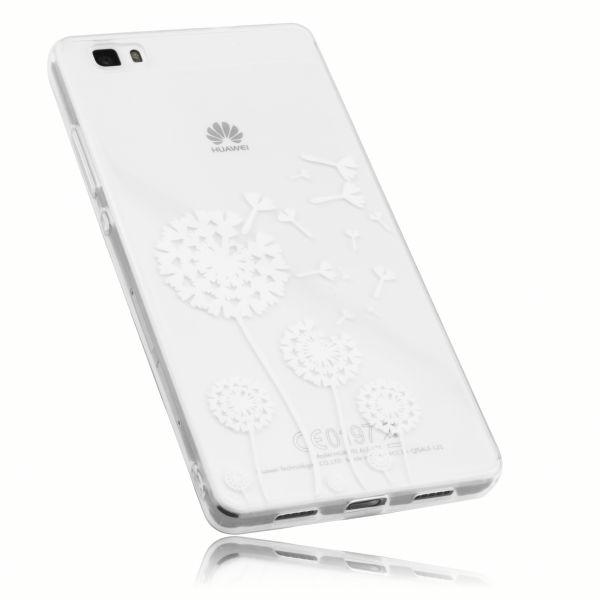 TPU Hülle transparent Motiv Pusteblume für Huawei P8 Lite (2015)