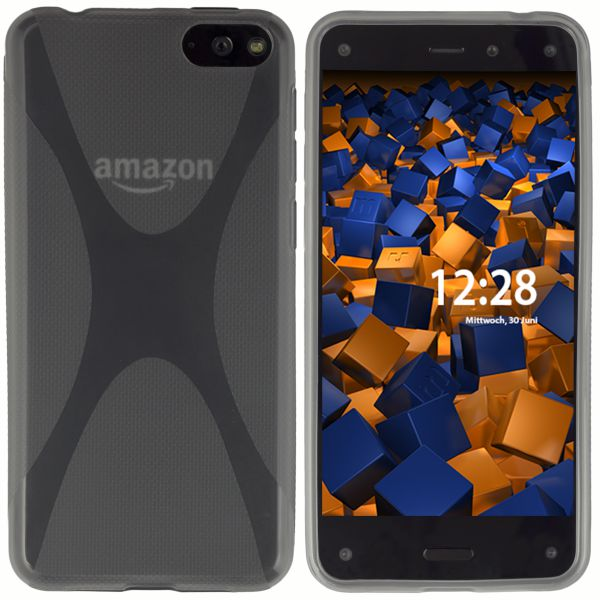 TPU Hülle X-Design transparent schwarz für Amazon Fire Phone