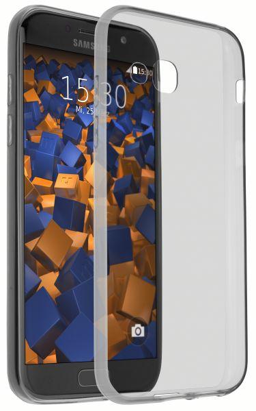 TPU Hülle Ultra Slim schwarz transparent für Samsung Galaxy A5 (2017)