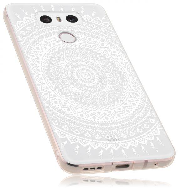 TPU Hülle transparent Motiv Mandala für LG G6