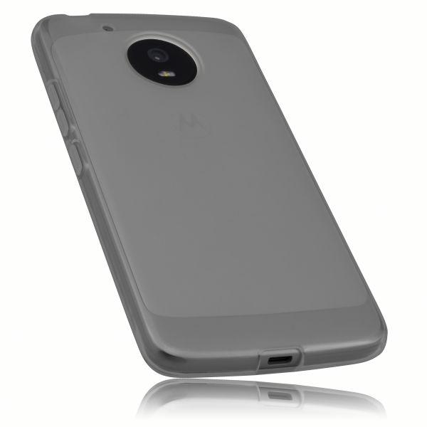 TPU Hülle schwarz transparent für Motorola Moto G5