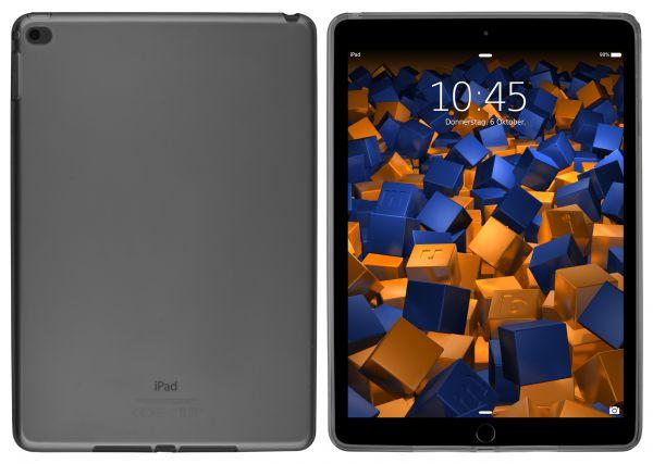 TPU Hülle schwarz transparent für Apple iPad Air 2