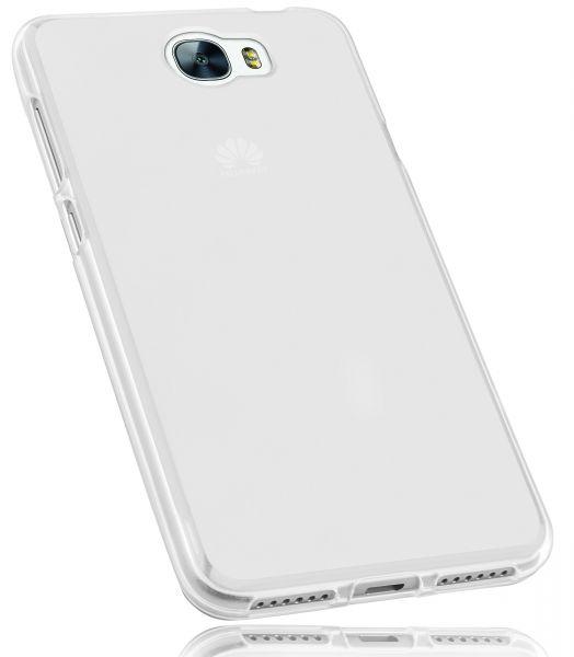 TPU Hülle weiß transparent für Huawei Y6 II compact