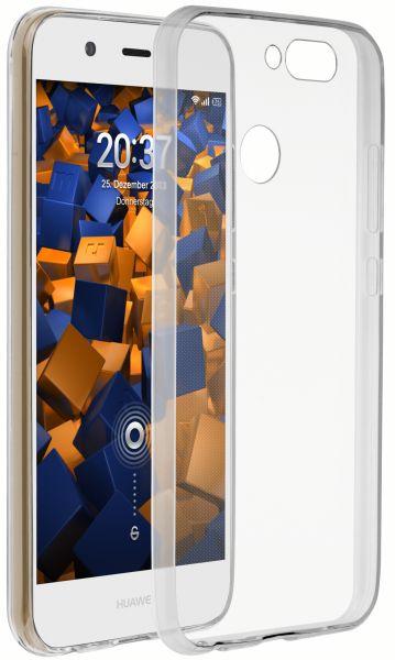 TPU Hülle Ultra Slim weiß transparent für Huawei Nova 2