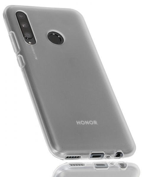 TPU Hülle weiß transparent für Huawei Honor 20 Lite