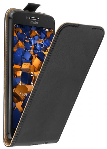 Flip Case Tasche schwarz für Motorola Moto G5 Plus