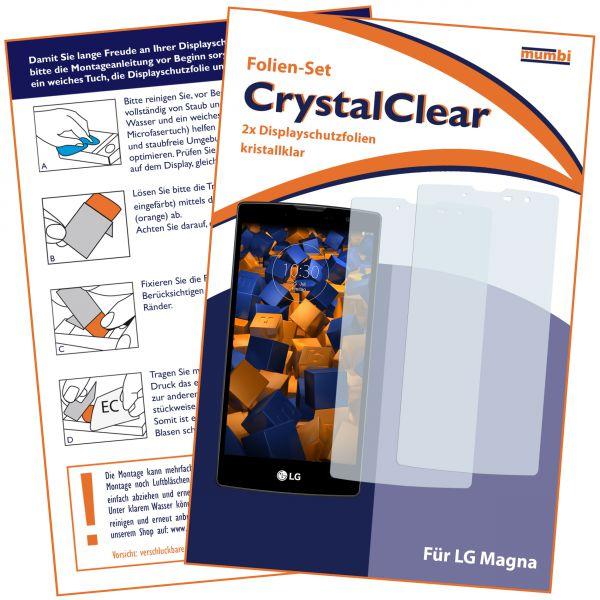 Displayschutzfolie 2 Stck. CrystalClear für LG Magna / G4c