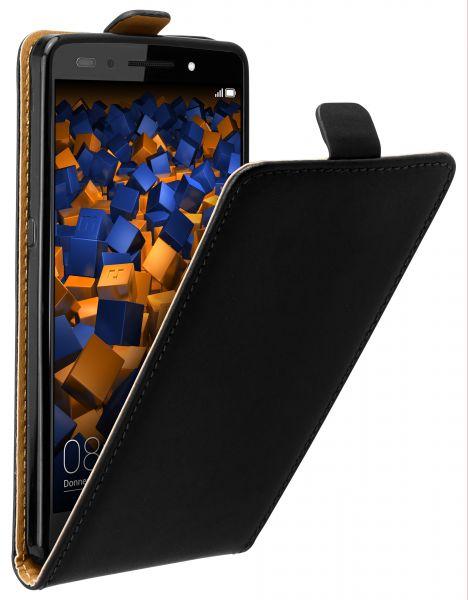 Flip Case Tasche schwarz für Huawei Honor 7 / Honor 7 Premium